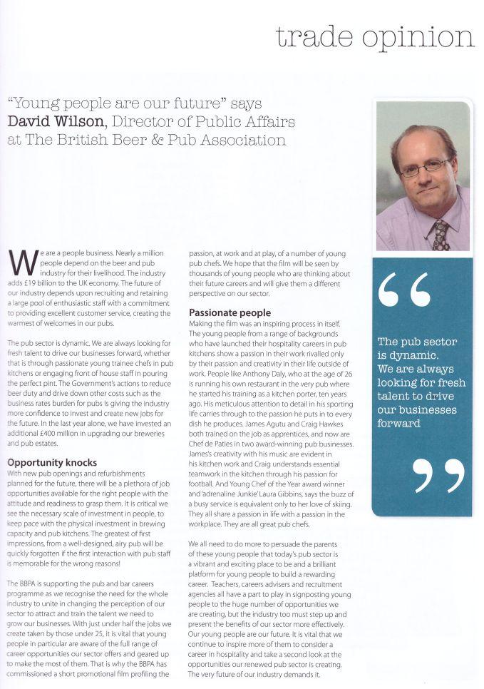 Host - David Wilson - May